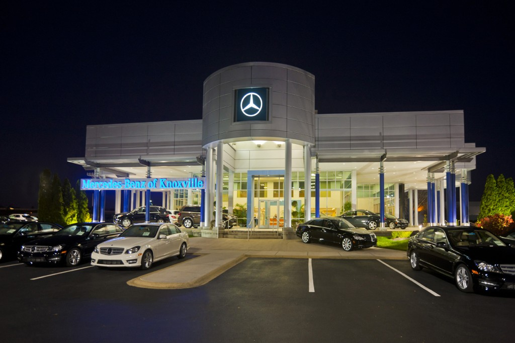 mercedes benz of knoxville george w reagan company inc
